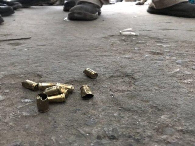 Vendedor de pescado acabó postrado en cama tras ser impactado por bala perdida