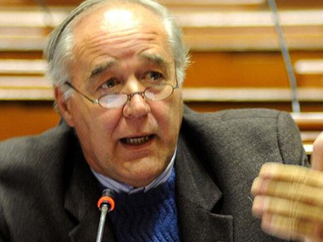 García Belaunde sobre elecciones: El jurado tiene que definirse lo más pronto posible, pero con una verdad electoral