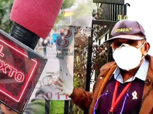 """Así sobreviven los """"abuelitos recurseros de Surco"""" en plena pandemia de la COVID-19"""