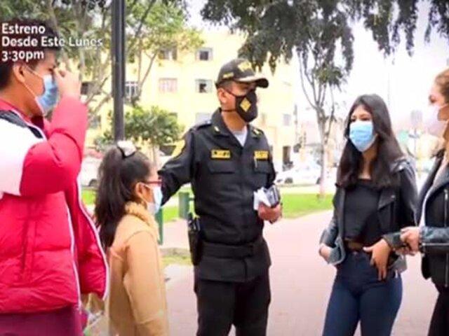 """""""Día del Padre"""": policía lucha por sacar adelante a sus cuatro  hijos tras fallecer esposa"""