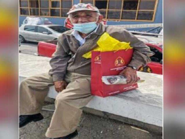 Día del Padre: entregan presentes a papás que trabajan como ambulantes en Chimbote