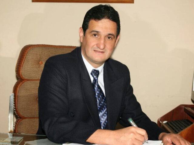 Magistrado Arce del JNE está de acuerdo con que se pida el padrón de electores, asegura Castiglioni