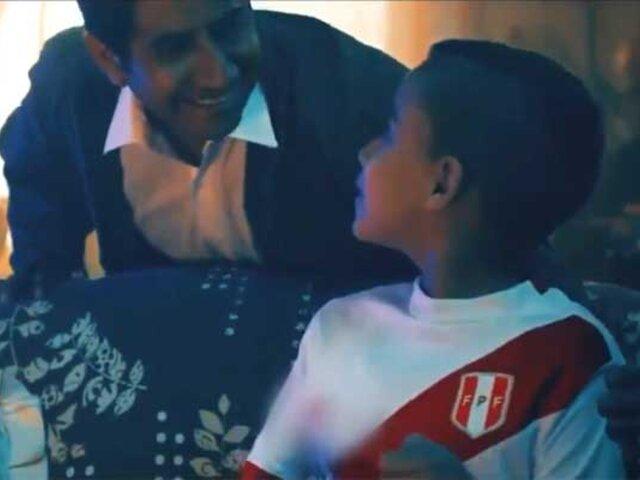 """VIDEO: jugadores de la selección de fútbol envían emotivo mensaje por el """"Día del Padre"""""""