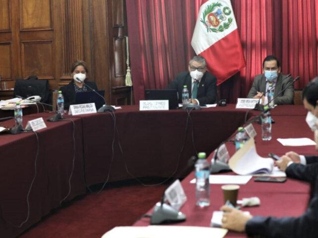 Tribunal Constitucional: Comisión especial del Congreso inicia entrevista a candidatos
