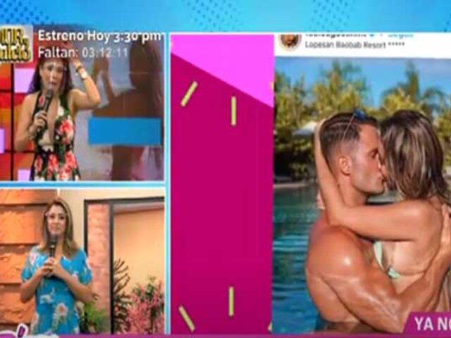 Las Picantitas del Espectáculo: Paula Manzanal y Fabio Agostini oficializaron su relación