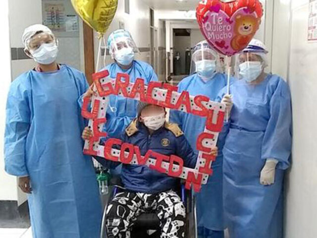 Cusco: tras permanecer varios días intubado, niño de 10 años logra vencer a la Covid-19