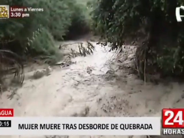 Bagua: lluvias e inundaciones dejan una persona fallecida