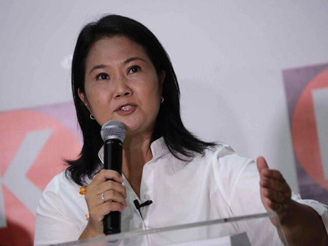 Fuerza Popular interpuso habeas data para acceder a lista de electores
