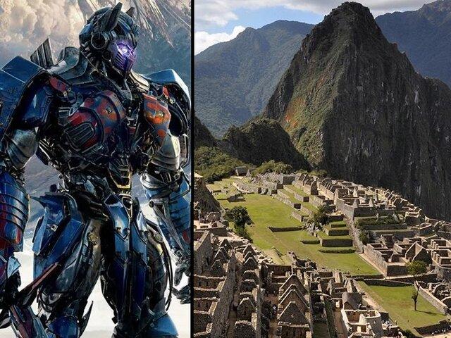 Transformers llega a Perú: nueva película se filmará en Machu Picchu