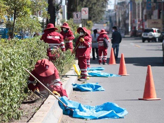 Arequipa: alistan protestas por muerte de 40 obreros de limpieza pública durante la pandemia