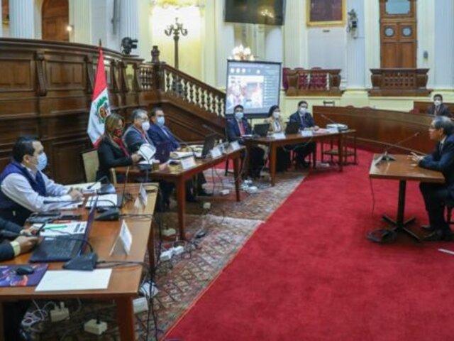 Congreso: Comisión especial del TC entrevistó a seis postulantes