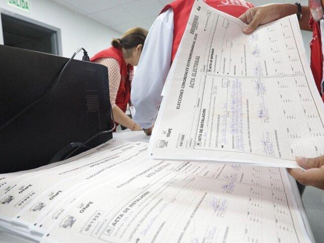 JNE rechazó 10 apelaciones de pedidos de nulidad presentadas por Fuerza Popular