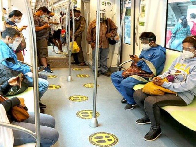 ¿Qué hacer frente a un sismo en la Línea 1 del Metro de Lima?