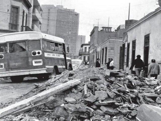 Panamericana TV te muestra cómo se vivió el terremoto de Lima y Callao de 1966