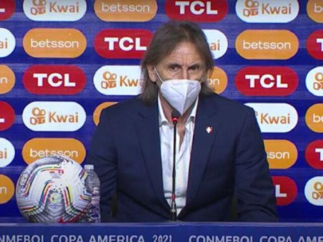 Gareca tras empate con Ecuador: esta reacción va para el Perú que la pasó mal en el sismo
