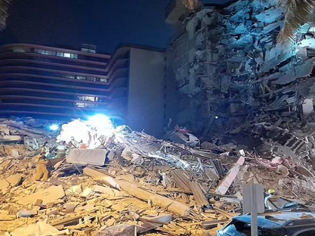 Colapsa edificio en Miami Beach, se desconoce el número de personas atrapadas o fallecidas