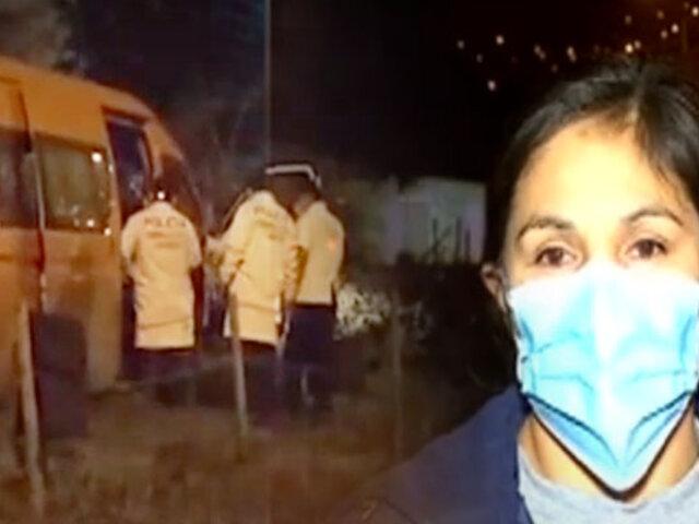 Conductor de combi fue asesinado a balazos por resistirse a robo en SJL
