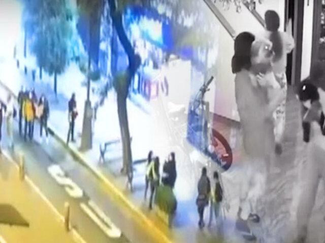 """Los """"ojos de la ciudad"""" captaron el pánico durante el sismo de 6.0"""
