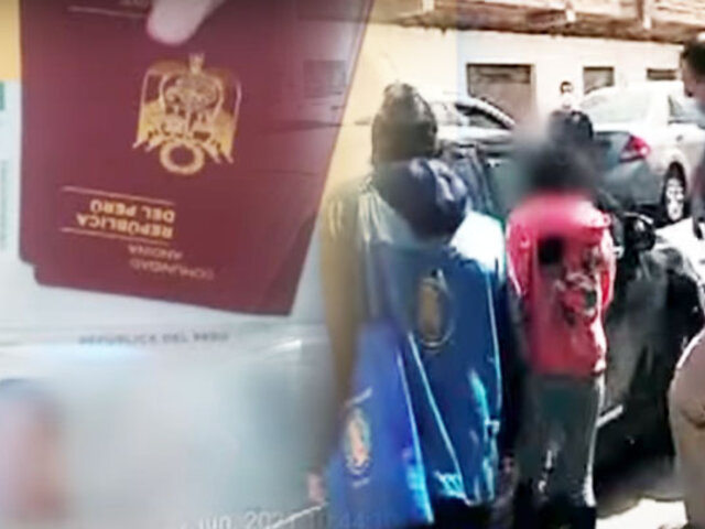 """""""Llantero"""" capturado en Chosica pertenecería a una red  internacional de trata de menores"""