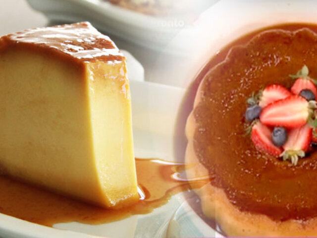D´Mañana te enseña los tips para preparar una rica crema volteada con fresas