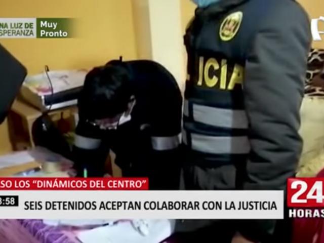 'Los Dinámicos del Centro': seis detenidos aceptan colaborar con la justicia