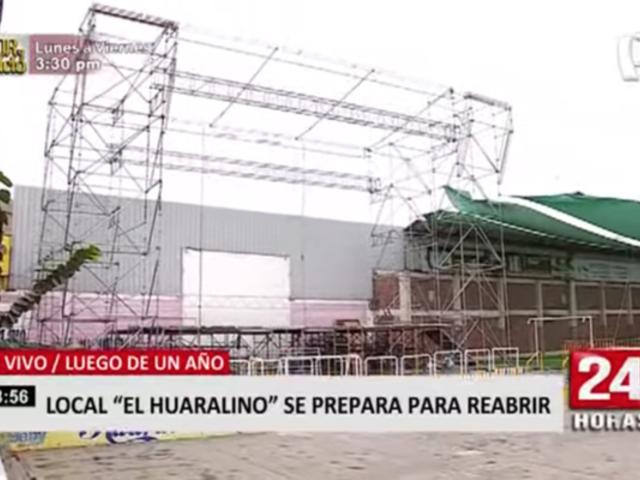Los Olivos: complejo 'El Huaralino' se prepara para reabrir sus puertas