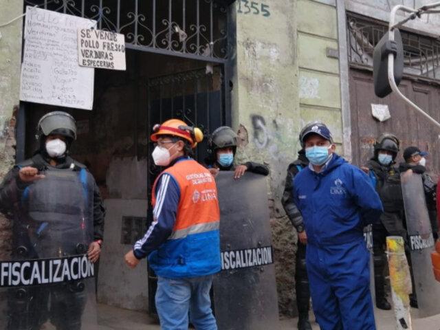 Cercado de Lima: hombre muere tras derrumbe de una casona en Barrios Altos