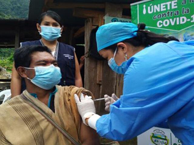 Ayacucho: inician vacunación a comunidades nativas ubicadas en el Vraem