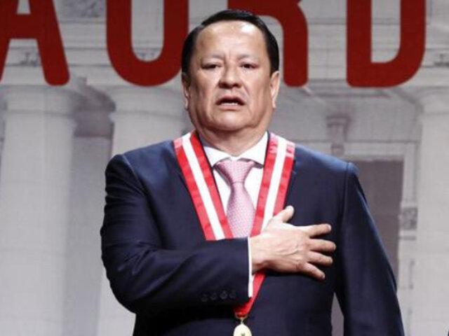 Luis Arce: JNJ abre proceso disciplinario al fiscal supremo por apartarse del JNE