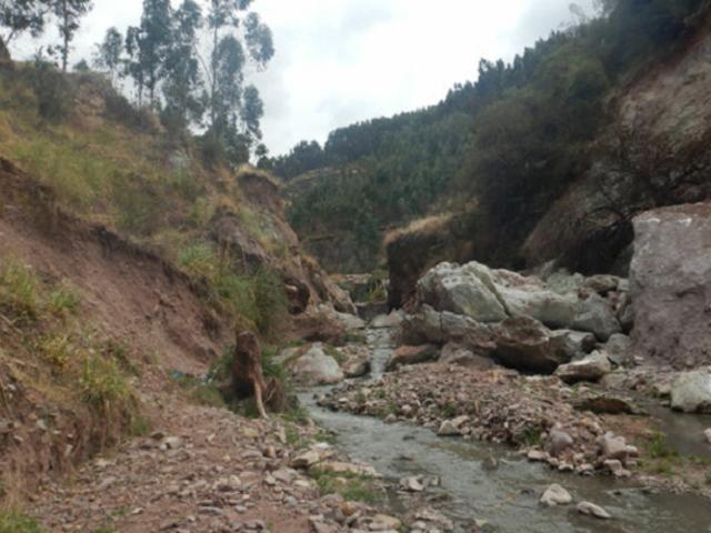 Cusco: Centro histórico podría ser afectado por huaicos ante la reactivación de deslizamientos y derrumbes en quebrada Saphy