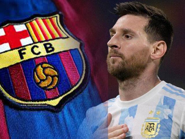 Lionel Messi: Renovación con el Barcelona sería anunciada la próxima semana