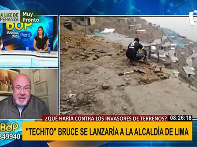 Carlos Bruce anunció que participará en las elecciones municipales del 2022