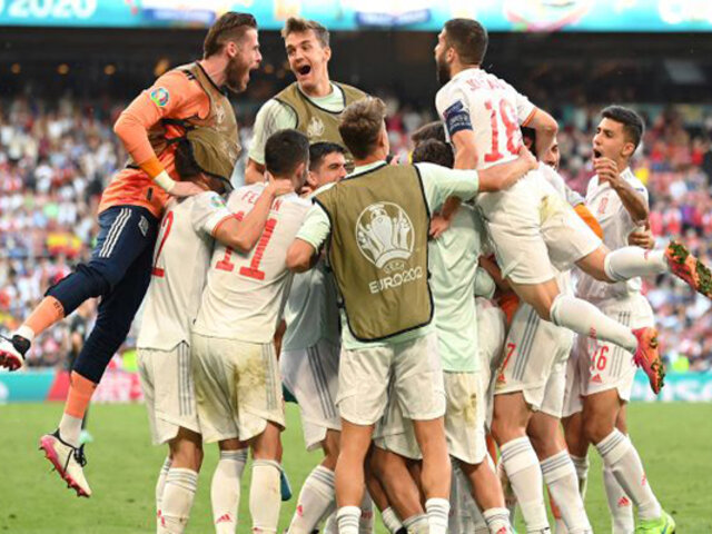 Eurocopa 2021: Encuentro agónico entre Croacia y España culmina con 3 a 5