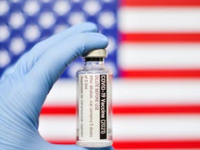 Cancillería peruana agradece a Estados Unidos la donación de 2 millones de dosis