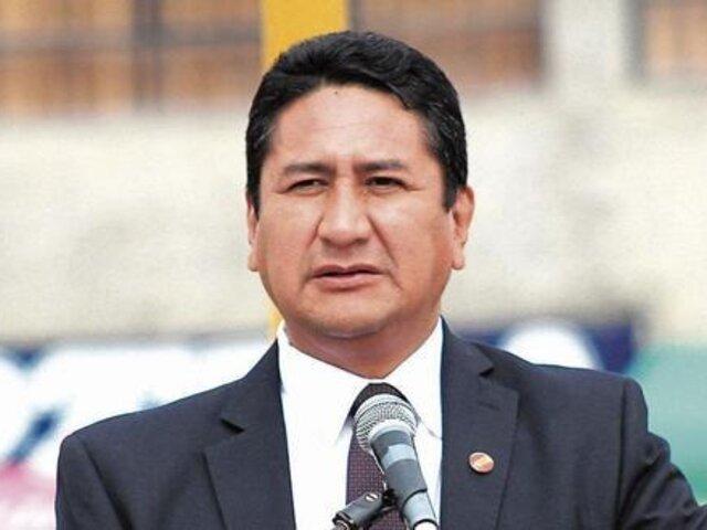 Tribunal Constitucional rechazó hábeas corpus de Vladimir Cerrón