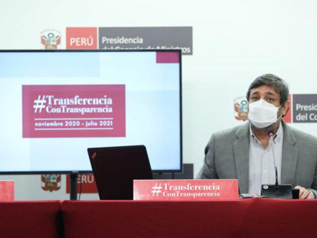 Ministro Cuenca: Más de 100,000 escolares de zonas rurales retornaron a clases semipresenciales