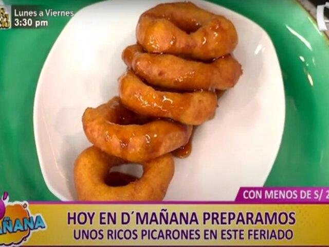 Hoy en D'Mañana: aprenda a preparar unos deliciosos picarones