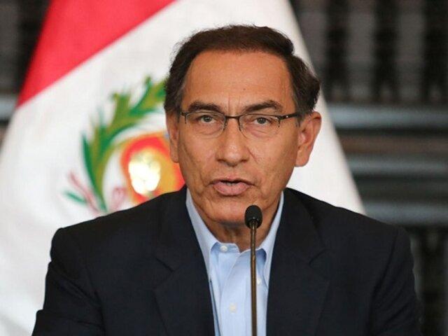 Jueza evaluará demanda contra fallo que excluyó a Martín Vizcarra como congresista