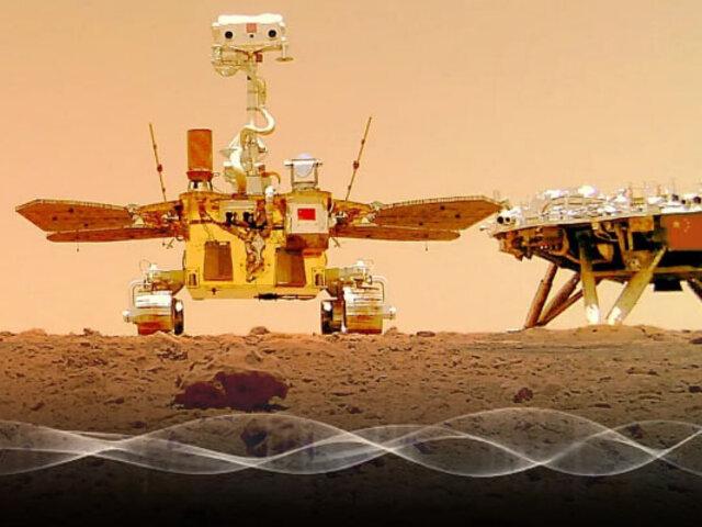 Revelan sonidos captados en Marte