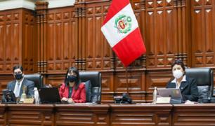 Miembros de la bancada de Fuerza Popular se enfrentaron por censura a Mesa Directiva