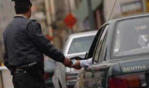 Puente Piedra: sentencian a más de 3 años de prisión a chófer que intentó sobornar a policía