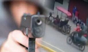 Pucallpa: delincuentes intentaron asaltar a un comerciante en la puerta de su vivienda