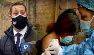 """Minsa llegó a """"Ticlio Chico"""" para realizar campaña de vacunación contra la influenza y neumococo"""