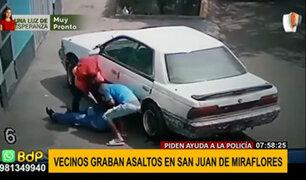 SJM: constantes asaltos y robos en la zona obliga a los vecinos a organizarse
