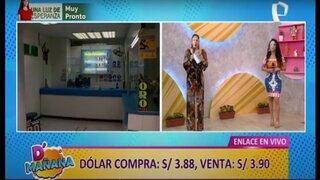 Desde el Centro de Lima: conozca el precio actual del dólar