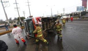 ATU anunció que suspenderá habilitación vehicular de bus que se despistó en San Borja