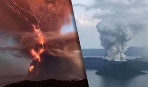 Miles de personas evacuadas en Filipinas por erupción volcánica