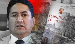 """Cerrón sobre Asamblea Constituyente: """"es un compromiso irrenunciable del partido"""""""