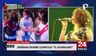 Complejo El Huaralino reabre sus puertas con presentación de Corazón Serrano