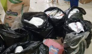 'Los Elegantes del Calzado': PNP desbarata banda que falsificaba zapatillas de marca en SJM